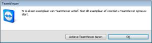 melding TeamViewer